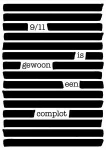 11 maart 2017 – '9/11 is gewoon een complot', lezing door Prof. Coen Vermeeren