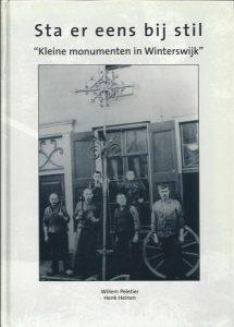 12 januari 2019 – Kleine monumenten, lezing door Willem Peletier